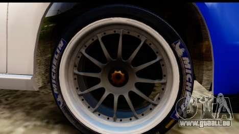 Ford Focus für GTA San Andreas Rückansicht