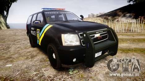 Chevrolet Tahoe 2010 Sheriff Bohan [ELS] pour GTA 4