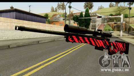 Red Tiger Sniper Rifle pour GTA San Andreas