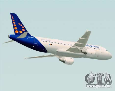 Airbus A320-200 Brussels Airlines für GTA San Andreas Innenansicht