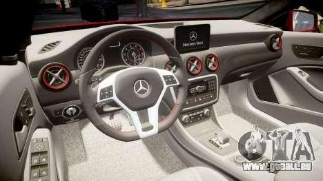 Mersedes-Benz A45 AMG pour GTA 4 est un côté