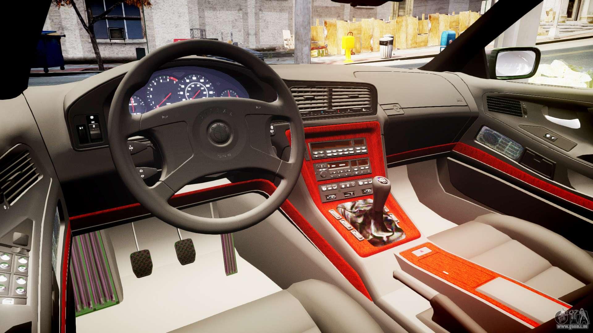 Bmw E31 850csi 1995 Epm Pour Gta 4