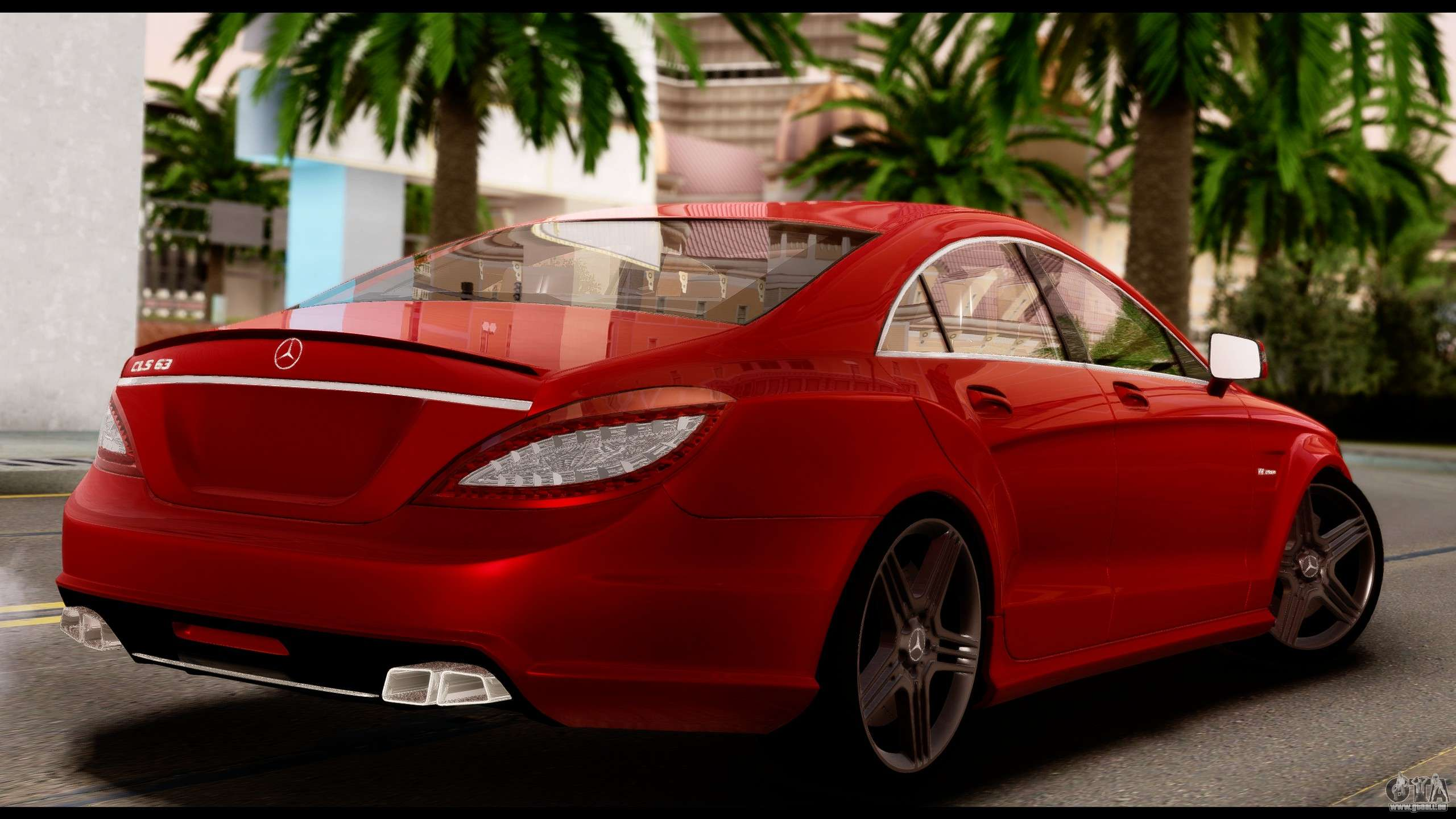 mercedes benz cls 63 amg 2010 pour gta san andreas. Black Bedroom Furniture Sets. Home Design Ideas