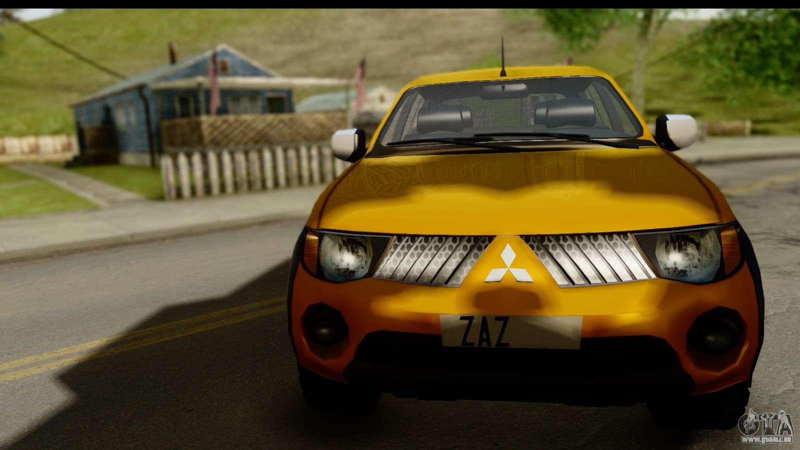 Mitsubishi L200 Triton V1 0 Pour Gta San Andreas