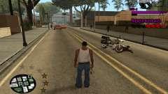 C-HUD by LoMoKo pour GTA San Andreas