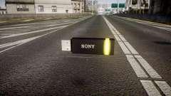 USB-flash-Laufwerk von Sony gelb
