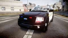 Ford Expedition 2010 Sheriff [ELS] pour GTA 4
