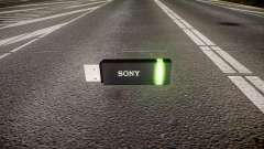 USB-flash-Laufwerk von Sony grün