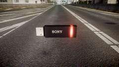 USB-flash-Laufwerk von Sony rot