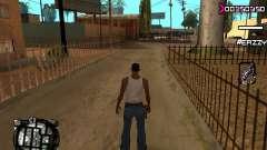 C-HUD WanTed pour GTA San Andreas