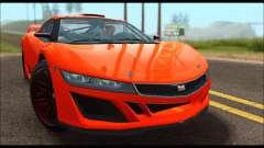 Dinka Jester Racecar (GTA V) pour GTA San Andreas