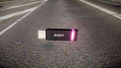 Lecteur flash USB Sony violet