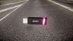 USB-flash-Laufwerk von Sony lila