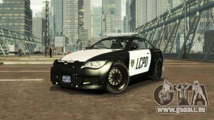 GTA V Ubermacht Sentinel Police [ELS] pour GTA 4
