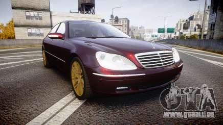 Mercedes-Benz S600 W220 pour GTA 4
