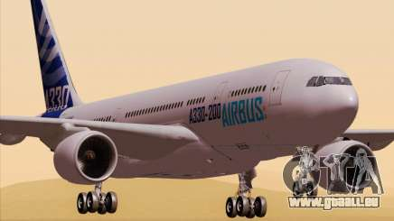 Airbus A330-200 Airbus S A S Livery pour GTA San Andreas