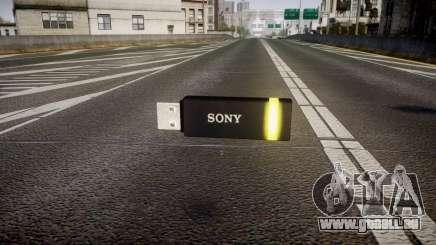 Lecteur flash USB Sony jaune pour GTA 4