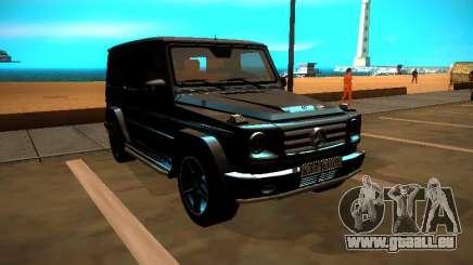 Mercedes-Benz G500 Bluetec 2014 für GTA San Andreas
