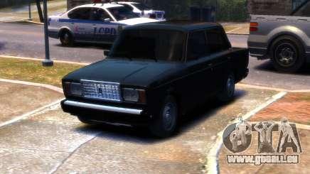 VAZ 2107 R13 für GTA 4