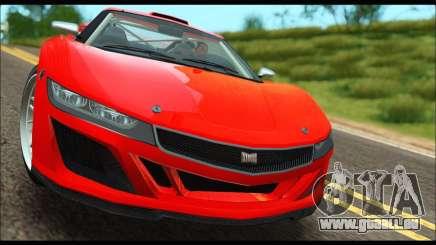 Dinka Jester Racecar (GTA V) (IVF) pour GTA San Andreas