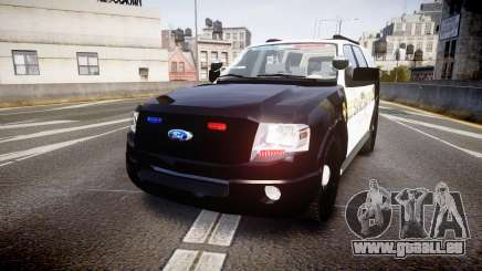 Ford Expedition 2010 Sheriff [ELS] für GTA 4