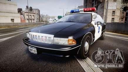 Chevrolet Caprice 1990 LCPD [ELS] Patrol für GTA 4