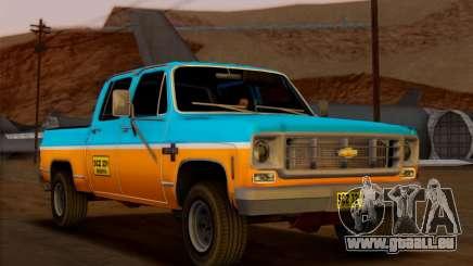 Chevrolet Custom Deluxe pour GTA San Andreas
