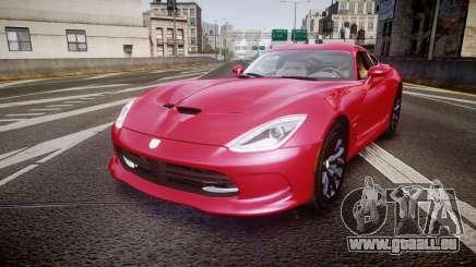 Dodge Viper SRT 2012 für GTA 4