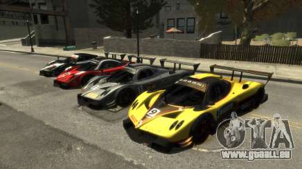 Pagani Zonda R pour GTA 4