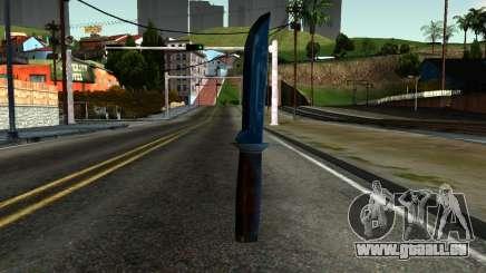 Knife from Kuma War für GTA San Andreas