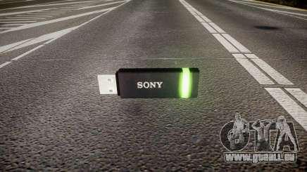 USB-flash-Laufwerk von Sony grün für GTA 4