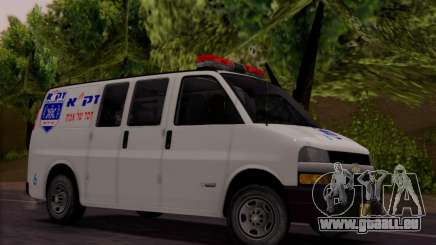 Chevrolet Exspress Ambulance pour GTA San Andreas