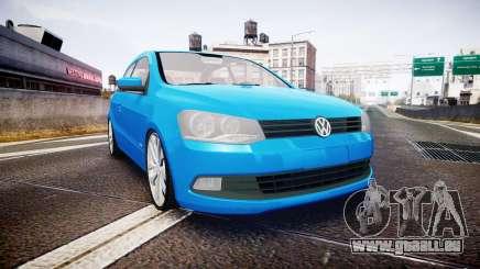 Volkswagen Gol G6 iTrend 2014 rims2 pour GTA 4