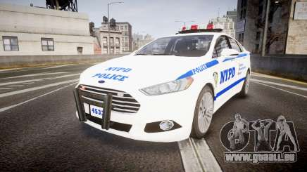 Ford Fusion 2014 NYPD [ELS] pour GTA 4