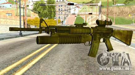 Assault Rifle from Global Ops: Commando Libya pour GTA San Andreas