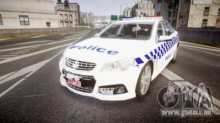 Holden VF Commodore SS Victorian Police [ELS] pour GTA 4