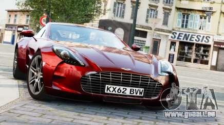 Aston Martin One-77 2010 [EPM] pour GTA 4