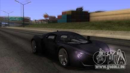 Marussia B2 v1.1 pour GTA San Andreas