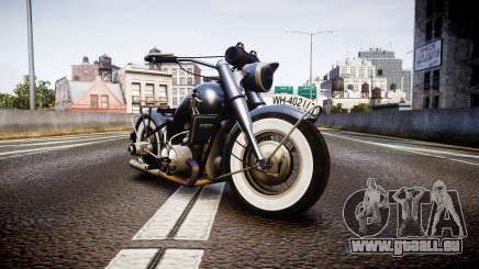 BMW R75 black-and-whites tires pour GTA 4