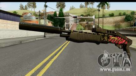 Red Tiger Combat Shotgun für GTA San Andreas