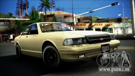 Civillian Vapid Stanier II from GTA 4 pour GTA San Andreas