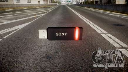 Lecteur flash USB Sony rouge pour GTA 4