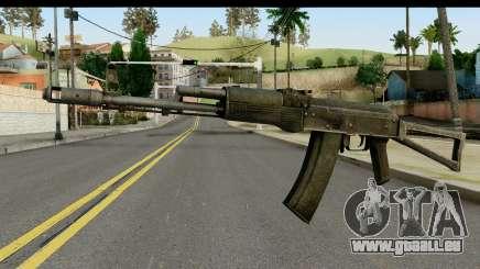 Kunststoff-AKS-74 für GTA San Andreas