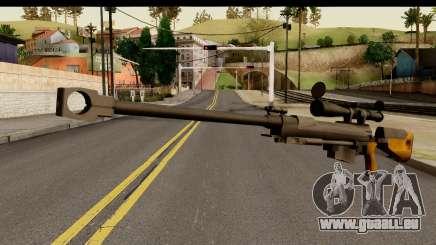 Sinons PGM Ultima Ratio Hecate II pour GTA San Andreas