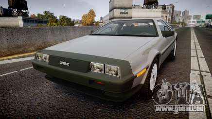 DeLorean DMC-12 [Final] pour GTA 4