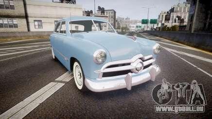 Ford Custom Fordor 1949 pour GTA 4