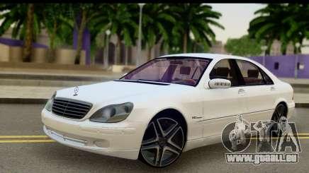 Mercedes-Benz S600 AMG pour GTA San Andreas