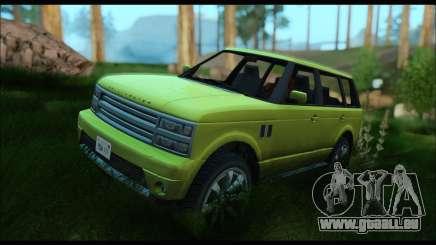 Gallivanter Baller I (GTA V) pour GTA San Andreas
