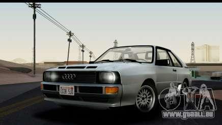 Audi Sport Quattro B2 (Typ 85Q) 1983 [HQLM] für GTA San Andreas