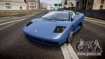 Pegassi Infernus GTA V Style pour GTA 4
